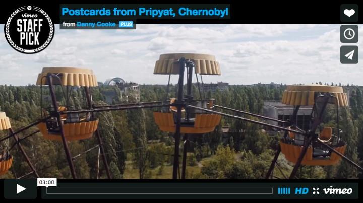 Cartoline da Prjpyat