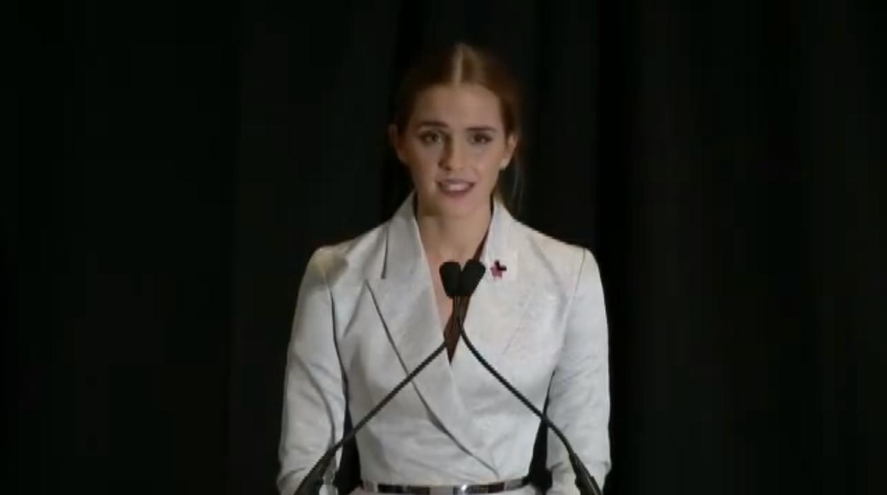 Emma Watson sulla parità di genere