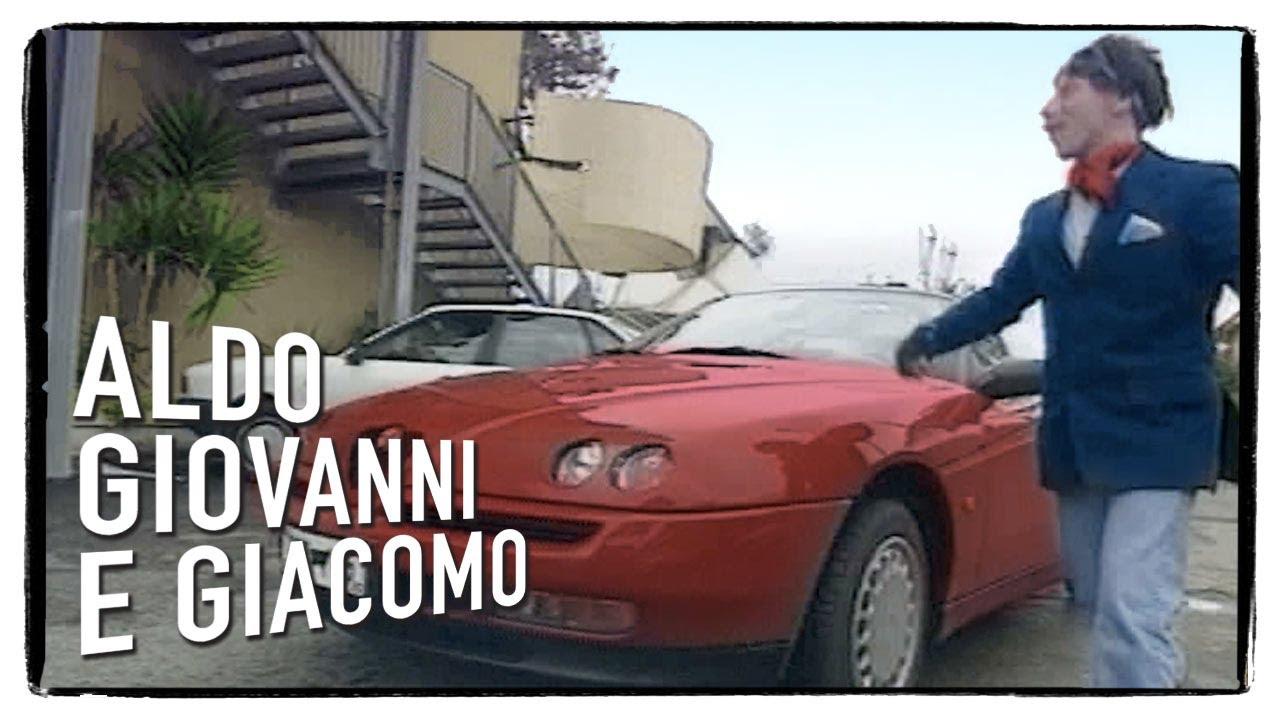 """""""Gli svizzeri"""" di Aldo, Giovanni e Giacomo – La spider di Rezzonico"""