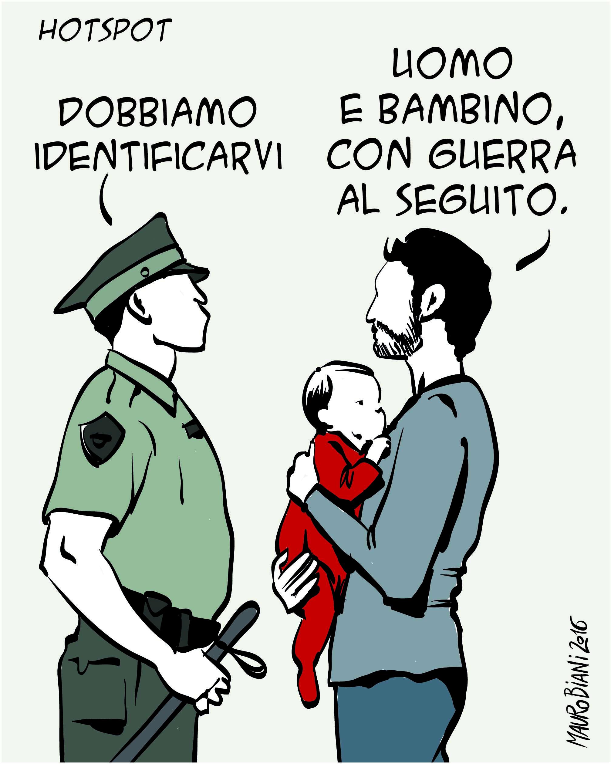 migranti identificazione