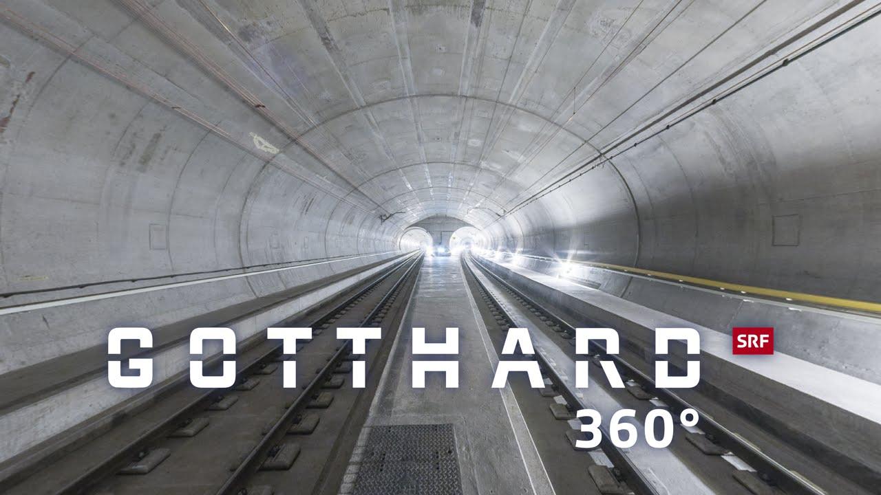 Gas-Tube: Galleria del San Gottardo a 360°