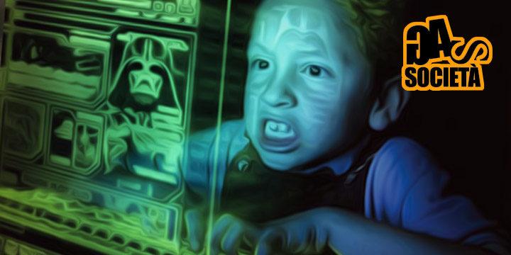 bambino al computer