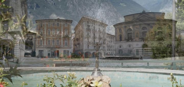Lugano piazza riforma