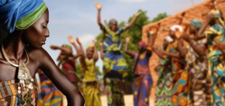 africani vestiti tipici