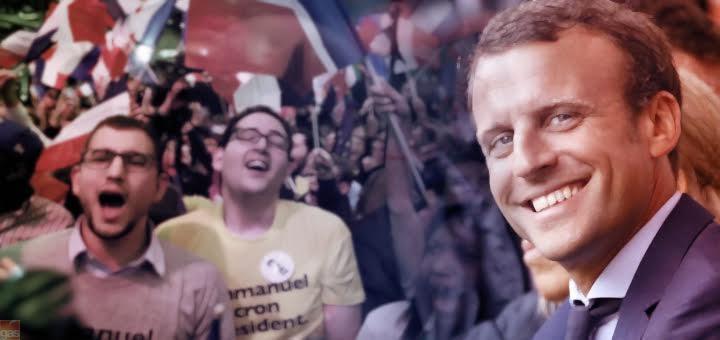 Macron Vittoria