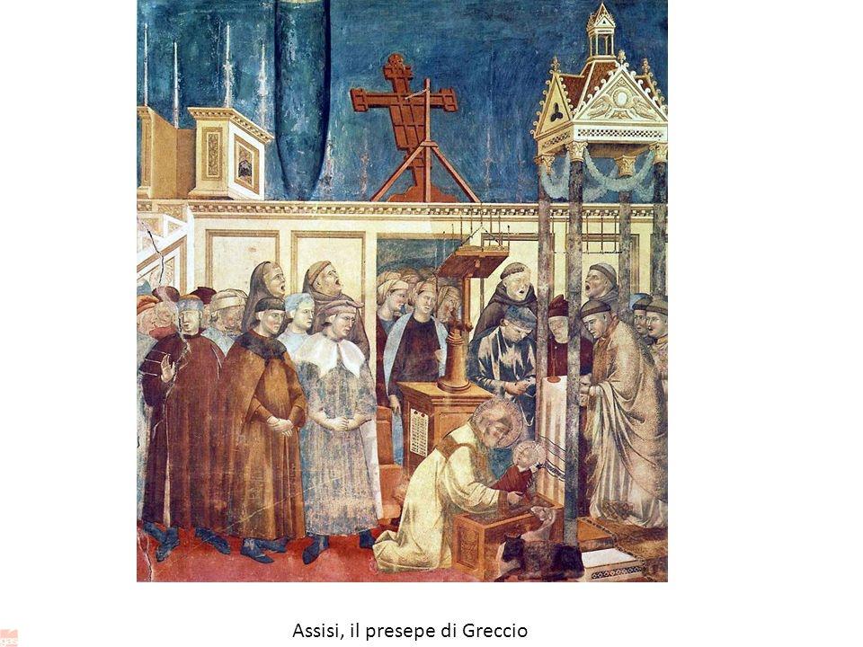 Assisi, il presepe di Greccio