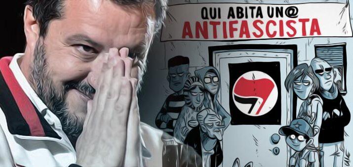 salvini antifa