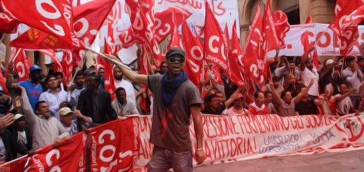 sciopero cobas