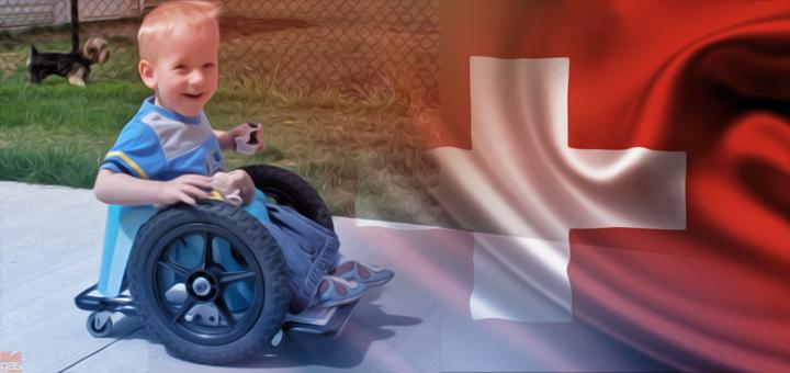 bambino invalido