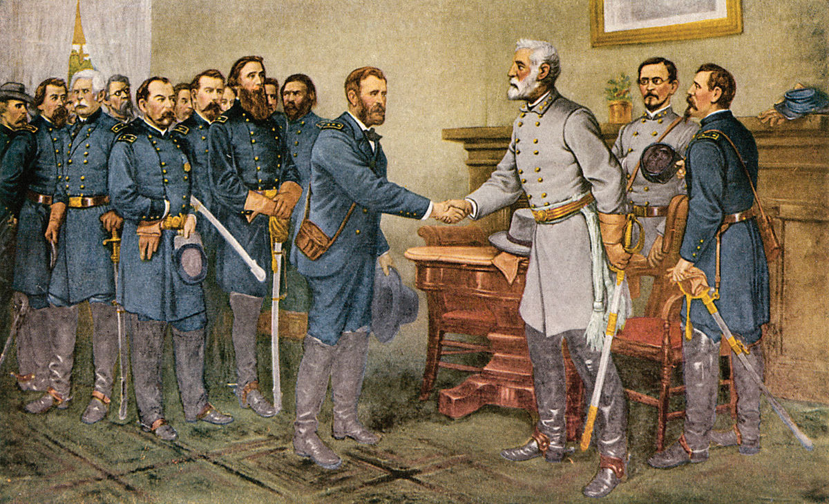 1200px-General_Robert_E._Lee_surrenders_at_Appomattox_Court_House_1865