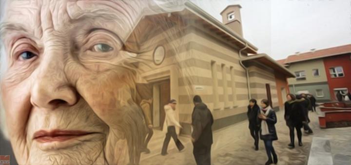 anziana villaggio alzheimer