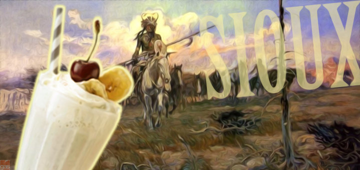 sioux milk shake