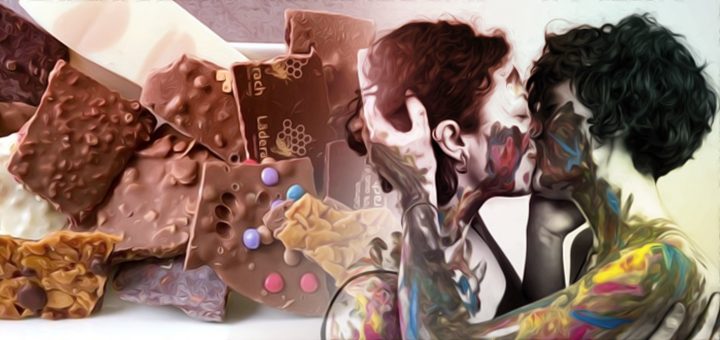 omofobia cioccolata