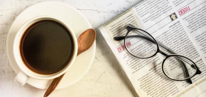 giornale caffé