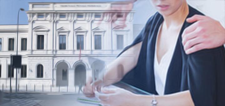 tribunale federale molestie