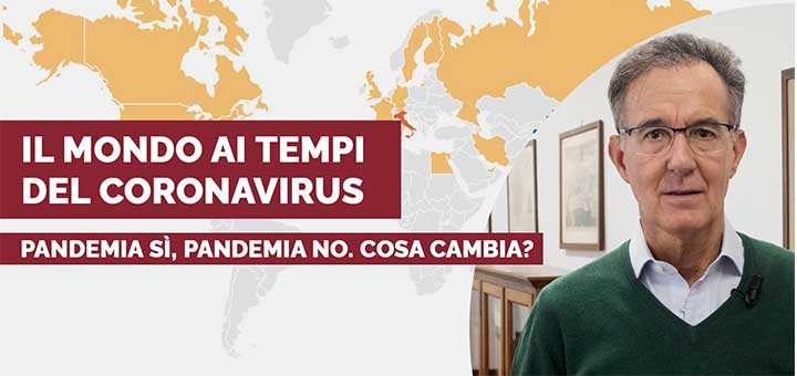 Coronavirus: epidemia o pandemia? (Video)