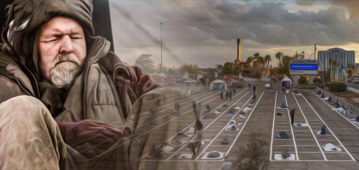 homeless las vegas