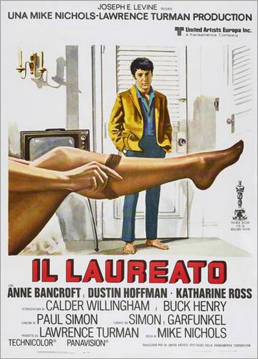 Recensione del film 'Il laureato' di Mike Nichols. Dustin Hoffman ...