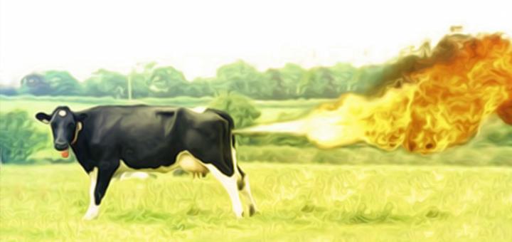mucca scoreggiona copia