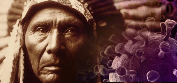 nativi americani covid