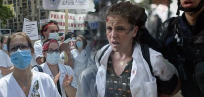infermieri proteste francia