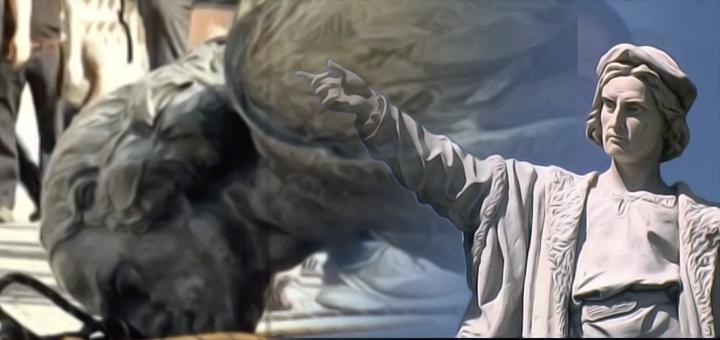 cristoforo colombo statua