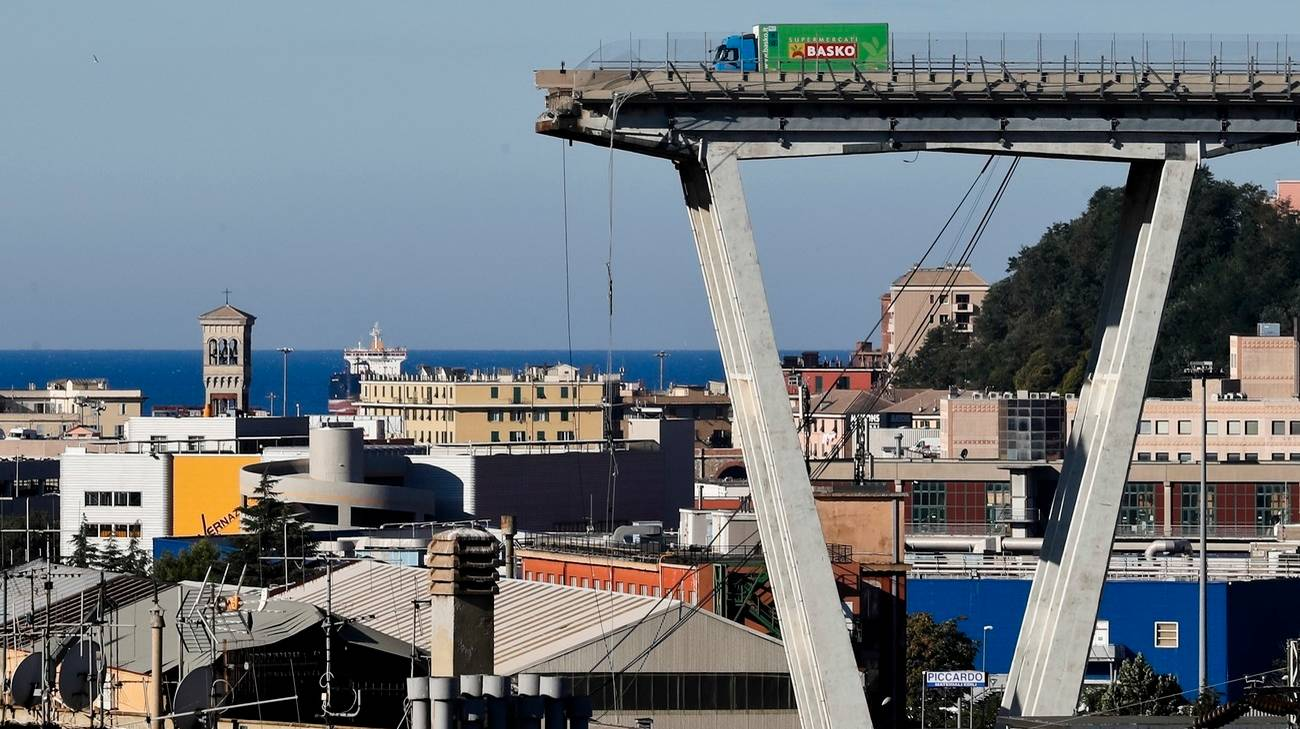 Il Ponte Morandi è crollato il 14 agosto 2018