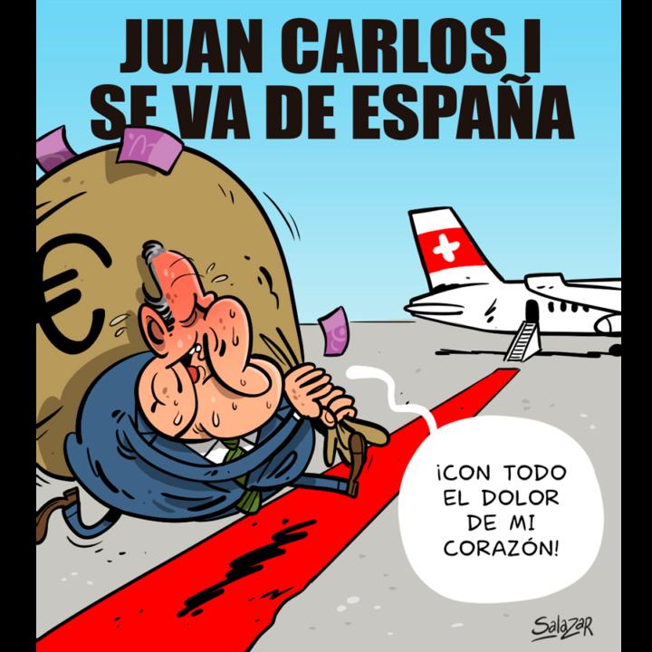 Juancar-è-di partire