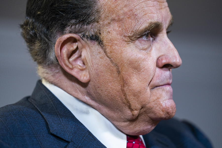 Giuliani holds press conference about Trump's legal challenges to 2020 election