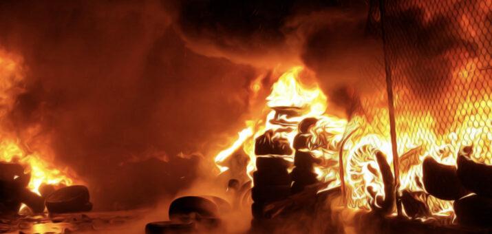 incendio pneumatici