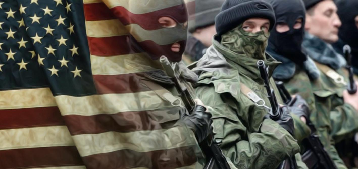 Trump e i soldati del Klan