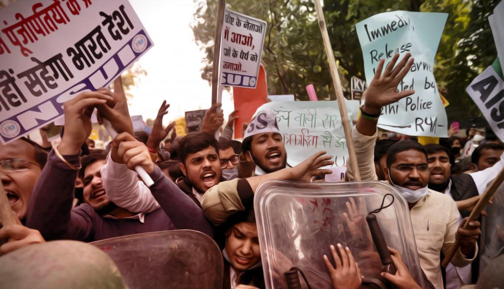 india proteste