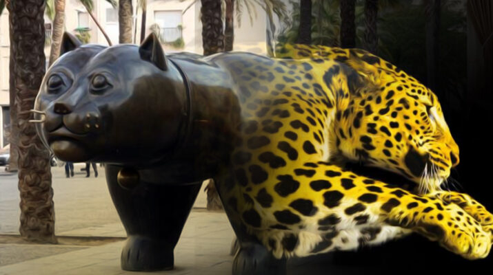 gatto-botero-pardo