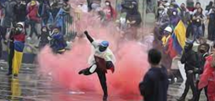 colombia-manifestazionis