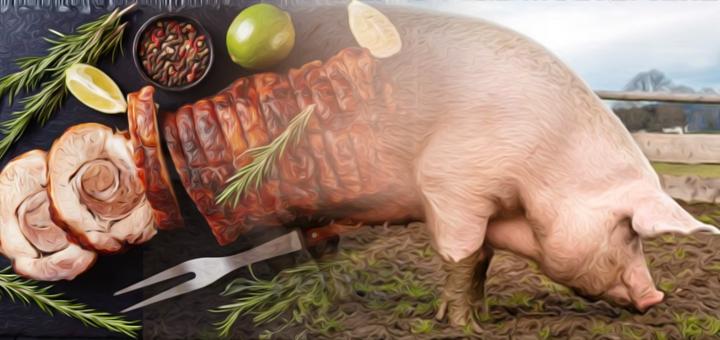 maiale porchetta